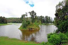 湖PATENGGANG在印度尼西亚 库存照片