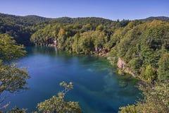 湖Plitvice国家公园 库存图片