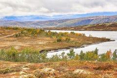 湖Stor Sverje,挪威