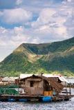湖taal的菲律宾 库存图片