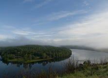 湖Taneycomo在旅游业的密苏里 库存照片