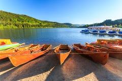 湖Titisee诺伊施塔特 库存图片