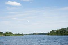 湖Valday 免版税图库摄影