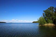 湖Vattern在瑞典 免版税库存照片