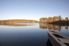 湖Vlasina塞尔维亚 库存图片