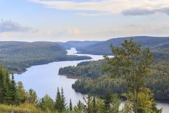 湖Wapizagonke在莫里斯国家公园 库存图片