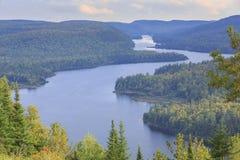 湖Wapizagonke在莫里斯国家公园 免版税图库摄影