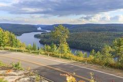 湖Wapizagonke在莫里斯国家公园 免版税库存图片