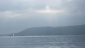 湖Windemere在Cumbria 库存图片