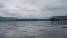 湖Windemere在Cumbria 免版税库存图片