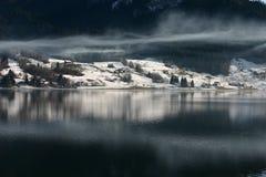 湖Ybrig地区 库存图片