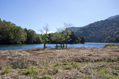 湖Yunoko,日光,枥木,日本 库存照片