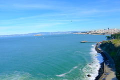 湾区旧金山 库存图片