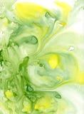 湿抽象背景的水彩 免版税库存图片