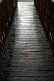 湿桥梁 图库摄影