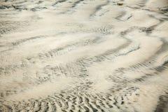 湿沙子摘要 图库摄影