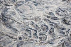 湿沙子摘要 免版税库存图片