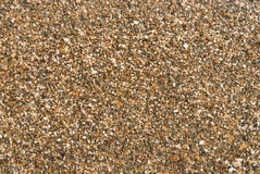 湿沙子纹理 图库摄影