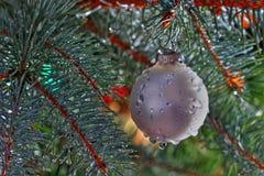 湿的圣诞节 免版税图库摄影