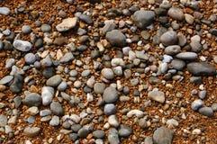 湿的小卵石 免版税库存照片