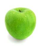 湿的苹果 图库摄影