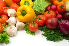 湿的蔬菜 图库摄影