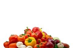 湿的蔬菜 免版税库存图片