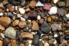 湿石头 库存图片