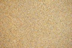 湿背景的沙子 免版税库存照片