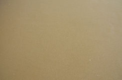 湿背景的沙子 免版税图库摄影