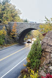 湿路和桥梁在阿科底亚国家公园 库存照片