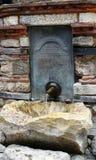 水源,内塞伯尔,保加利亚 免版税库存图片
