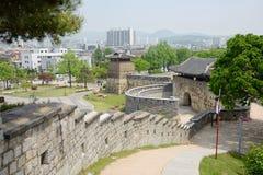 水源Hwaseong西部门  库存照片