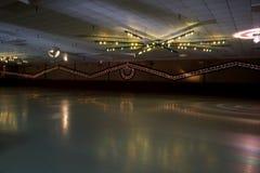溜冰场冰鞋 免版税图库摄影
