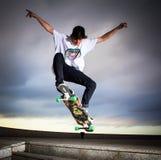 溜冰板者 免版税图库摄影
