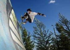 溜冰板者 图库摄影