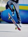 溜冰者 免版税库存照片