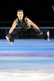 溜冰者Elvis Stojko 免版税图库摄影