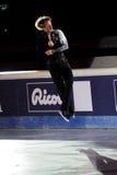 溜冰者Evgeni Plushenko 免版税库存图片