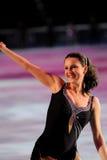 溜冰者Irina Slutskaya 免版税库存照片