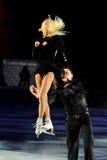 溜冰者Tatiana Totmianina &格言Marinin 免版税图库摄影