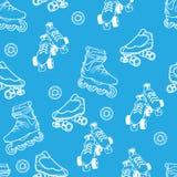 溜冰鞋样式 图库摄影