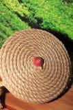 溜溜球是印度尼西亚传统玩具 免版税库存照片