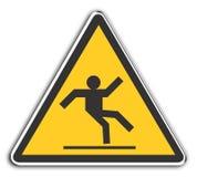 溜滑 向量例证