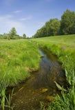溪流横向 库存图片