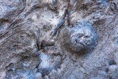 溶解的铝背景 免版税库存照片