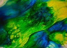 溶解的颜色摘要 免版税库存照片