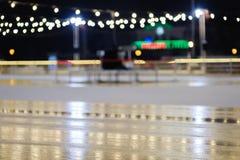 滑冰场摘要背景体育,室外标记 库存照片