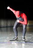 滑冰的速度起始时间 免版税库存照片