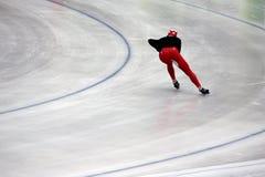 滑冰的速度 图库摄影